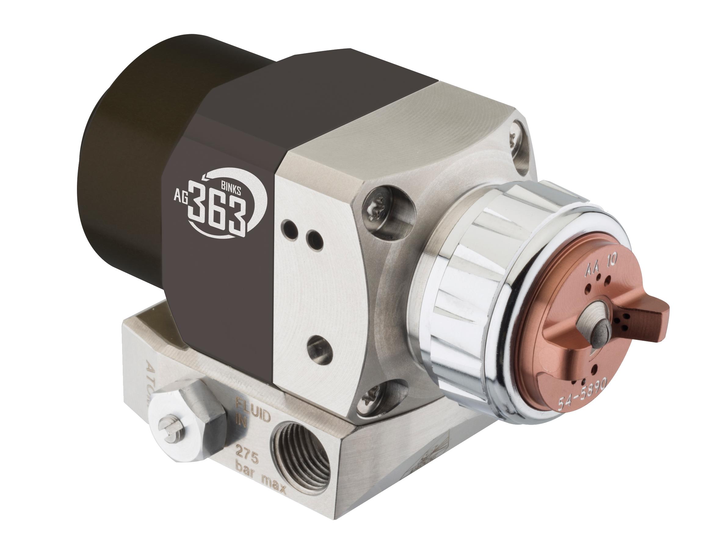 Pistolets de pulvérisation haute pression automatique Binks Airless Air Assistée AG 363 TAPLEX