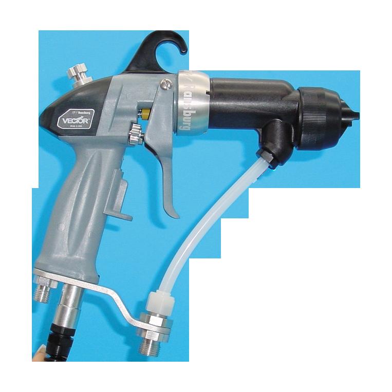 Les pistolets à pulvérisation automatique avec générateur : Vector R90 TAPLEX