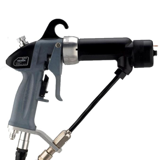 Pulvérisation air assisté électrostatique avec générateur : Vector AA90 TAPLEX