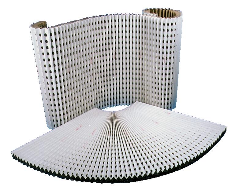Filtre carton plissé pour cabine de pistolage TAPLEX
